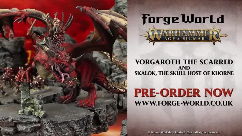Vorgaroth the Scarred Skalok the Skull Host of Khorne: Pre-order now