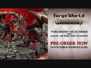 Vorgaroth the Scarred & Skalok the Skull Host of Khorne: Pre-order now