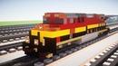 Minecraft KCS Kansas City Southern GE Evolution Tutorial