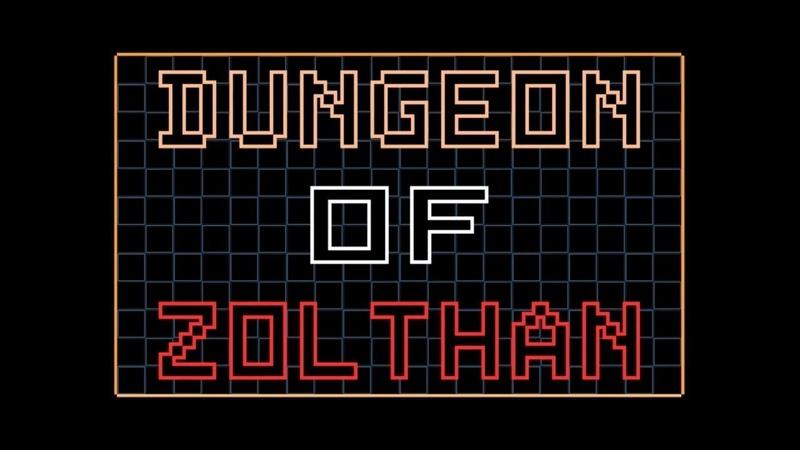 Dungeon of Zolthan (игра для горящих пуканов)