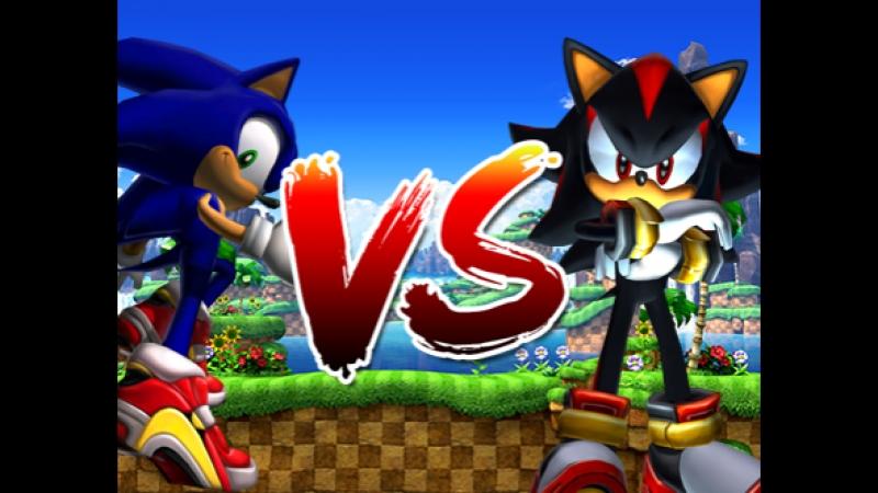 Sonic Adventure 2 [SFM] Лицом к лицу с Шедоу