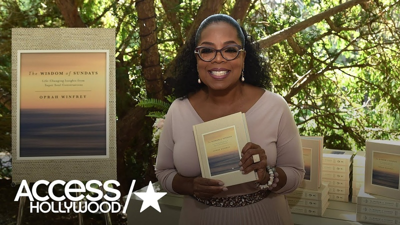 Oprah Reveals Her Mantra For Success During Brunch At Her Montecito Estate | Access Hollywood