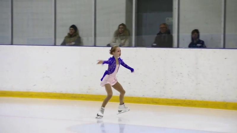 Елизавета Берестовская Elizaveta Berestovskaya FS Memorial Of S Volkov 2018 11 10