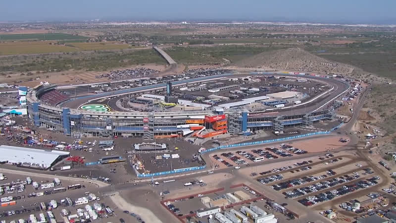 Chopper Camera - Phoenix - Round 32 - 2018 NASCAR XFINITY Series