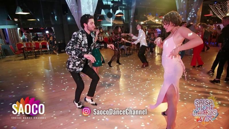 Sergey Gazaryan and Yana Velichkovskaya Salsa Dancing at Salsa Night Awards 2018, Sunday 14.04.2019