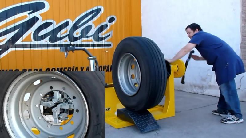Desmontadora de Neumáticos para Camiones GUBI