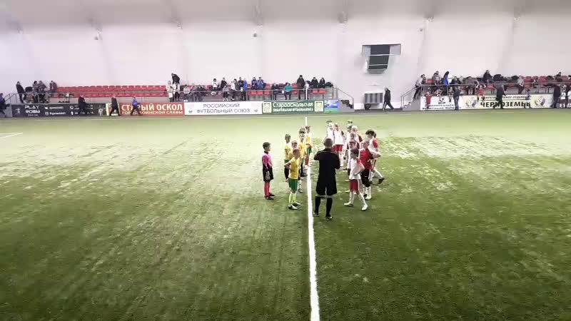 OPEN CUP-2018 2009 г.р. АГРО СПУТНИК БОГУЧАР - СШ СПАРТАК СТ. ОСКОЛ