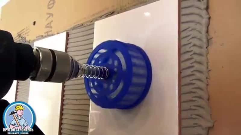 Как правильно просверлить отверстие в керамической плитке