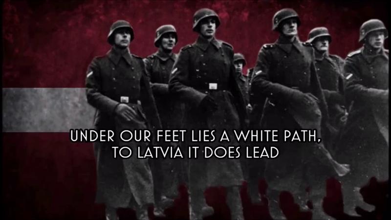 Zem Mūsu Kājām - Anthem of the Latvian SS Divisions (Non Content Check version REUPLOAD By FBIV)