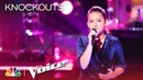 Kelly Clarkson's Wowed by Abby Cates' Confident Cover of Because of You The Voice 2018 Knockouts