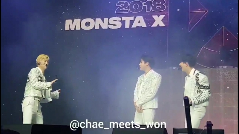 [VK][180620] MONSTA X fancam Talk Time @ THE 2nd WORLD TOUR 'THE CONNECT' in Amsterdam