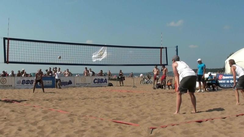 Beach volley Russia Solnechnoe 2018 M 06 Andrianov-Safonov and Karpukhin-Adonin