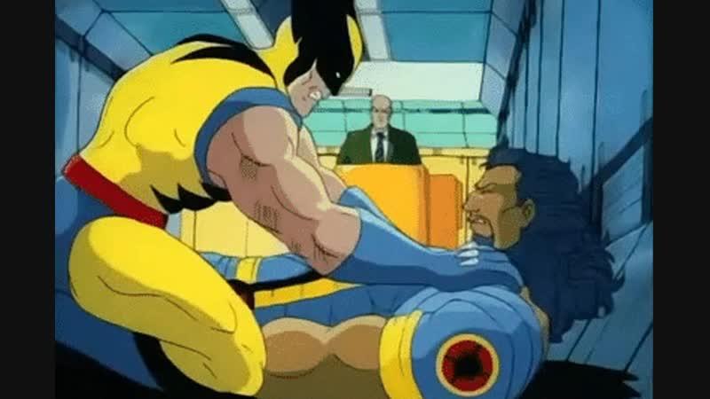 Wolverine vs nigger bishop Росомаха против ниггера бишопа 11DeadFace
