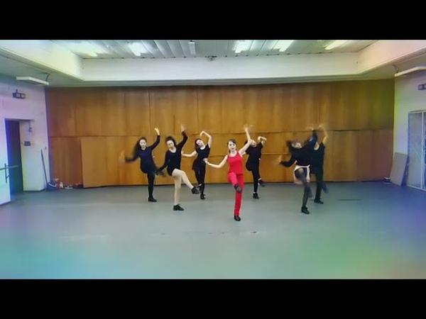 Malika Yes BOMBA DANCE💠💡 oinamaimynsenimen with Ballet Bahyt Girls