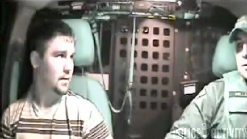 Handcuffed Suspect Steals Oklahoma Cop Car