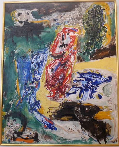 «Алкоголь», 1957, Асгер Йорн, Asger Jorn 1914 -1973 Национальная галерея Дании, Копенгаген.