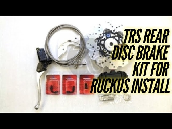 TRS REAR DISC BRAKE KIT FOR 49CC HONDA RUCKUS