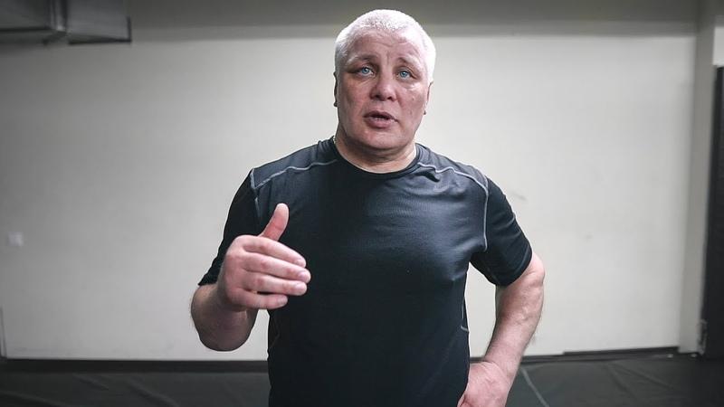 После этого начинают бить Тренер Николая Валуева