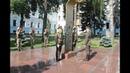 Ранковий церемоніал вшанування загиблих українських героїв 10 червня