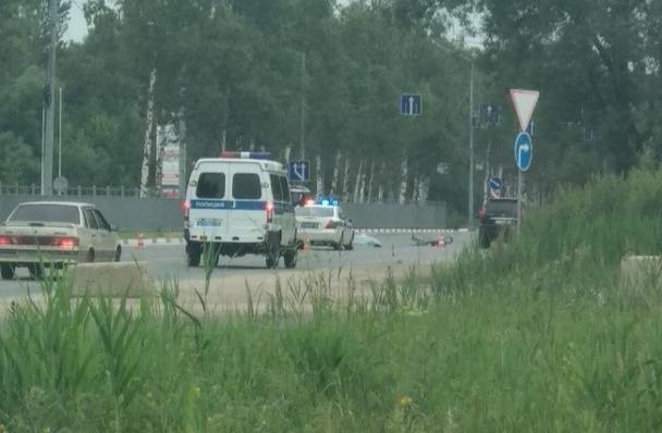 На проспекте Фрунзе сбили велосипедиста