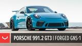 Porsche 991.2 GT3 Miami Blue by TAG Motorsports Vossen Forged GNS-1 Wheels