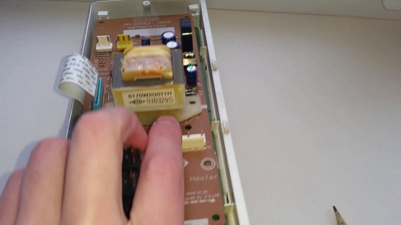 Трансформатор модуля управления свч печи