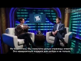 Show People with Paul Wontorek- Andrew Garfield of ANGELS IN AMERICA (русские субтитры)