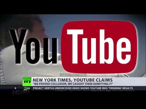Project Veritas reveals YouTube New York Times collusion