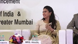 Kajol at the launch of Sudden Cardiac Arrest Awareness Initiative Part 1