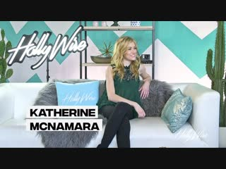 Katherine mcnamara reveals her celebrity crush! ¦ katherine mcnamara interview