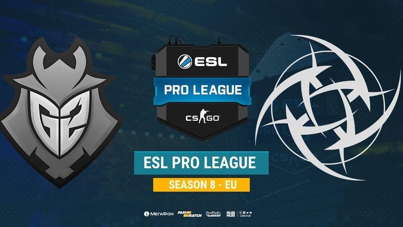 G2 vs NiP ESL Pro League S8 EU bo1 de overpass Enkanis ceh9