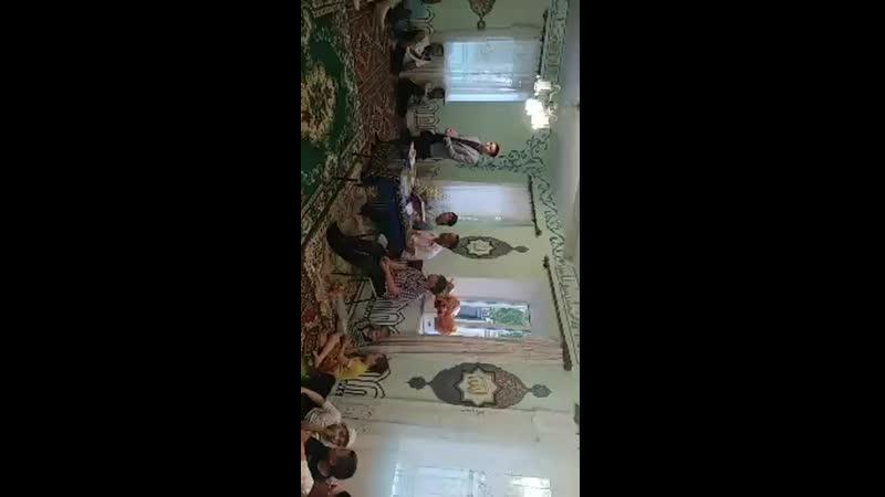Общегородской ифтар в мечети г. Алчевск  19 мая - Рамадан 2019