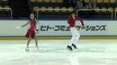 ISU 2014 Jr Grand Prix Courchevel Free Dance Julia WAGRET Mathieu COUYRAS FRA
