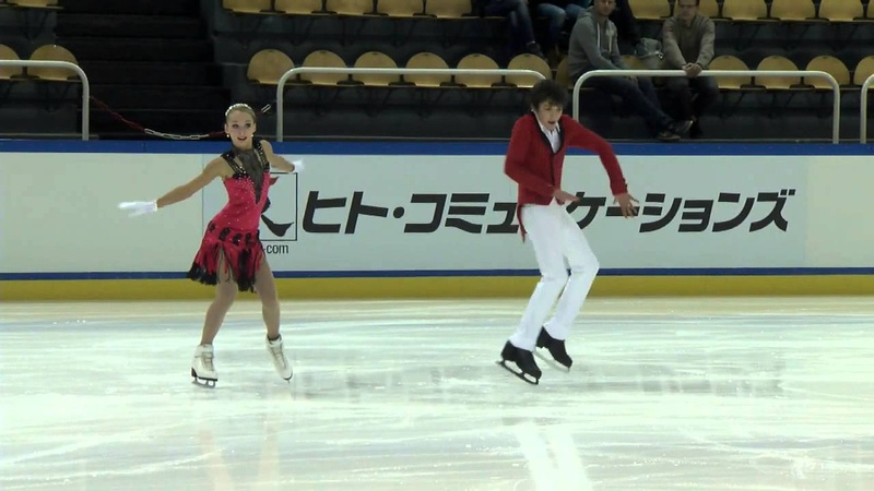 ISU 2014 Jr Grand Prix Courchevel Free Dance Julia WAGRET / Mathieu COUYRAS FRA