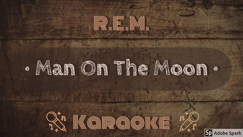 REM Man on the Moon CC Karaoke Instrumental Lyrics