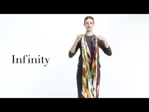 Những cách thắt khăn quàng cổ đầy Đẳng cấp và sang trọng