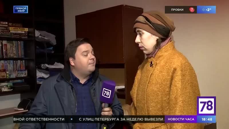 Юрист компании ЛенЮр в прямом эфире на телеканале Life78