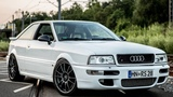 Old school Beast - Audi S2 GTX35 5-cylinder Turbo 750+HP!