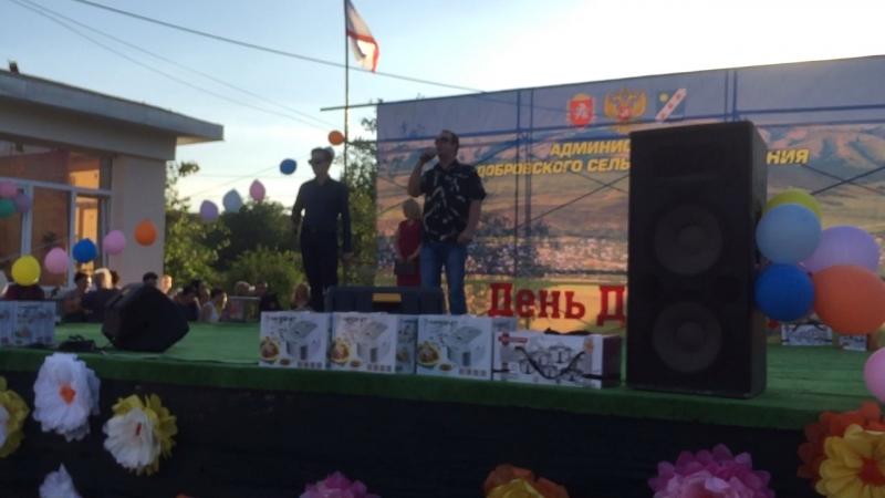 День Долины поёт Денис Ребриков и Дмитрий Филатов