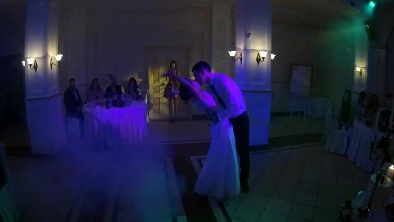 🌟 Первый танец Михаила и Дианы 23 08 2017 🌟