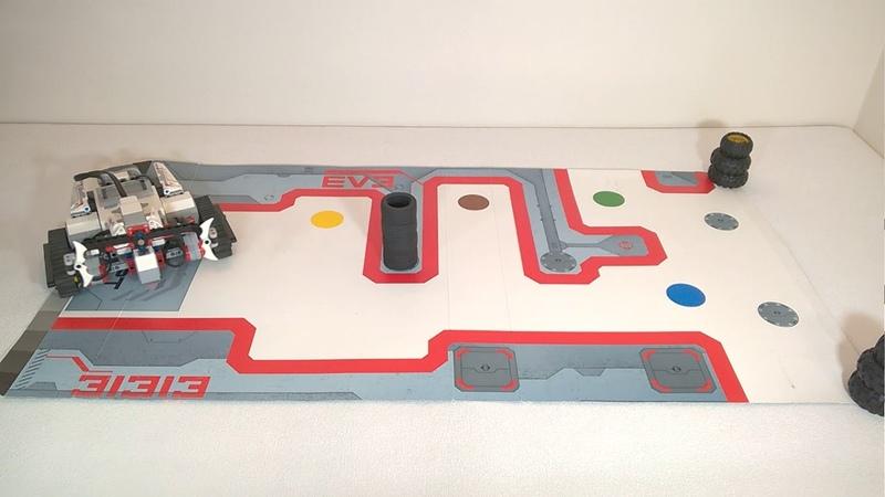 Уроки EV3 5 1 Движение робота Lego EV3 по квадрату Миссия Охрана объекта
