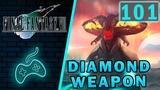 Final Fantasy VII - Прохождение. Часть 101 Алмазное оружие атакует Мидгар. Битва с Ultimate weapon