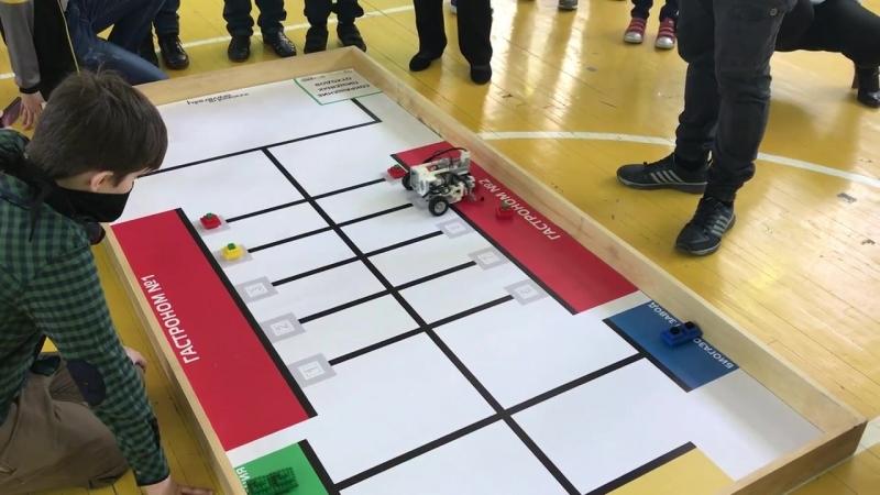 Russian Robot Olympiad Омск