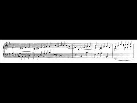 J.S. Bach - BWV 716 - Fuga super: Allein Gott in der Höh' sei Ehr'