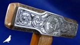 How To Make a Hand-Engraved Hammer with Simple Tools