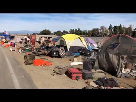 Америка: США. Сплошная бедность и убожество! 10 минут нищиты!