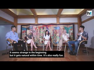 120719 kard tells what's similar between k-pop and bollywood @ interview