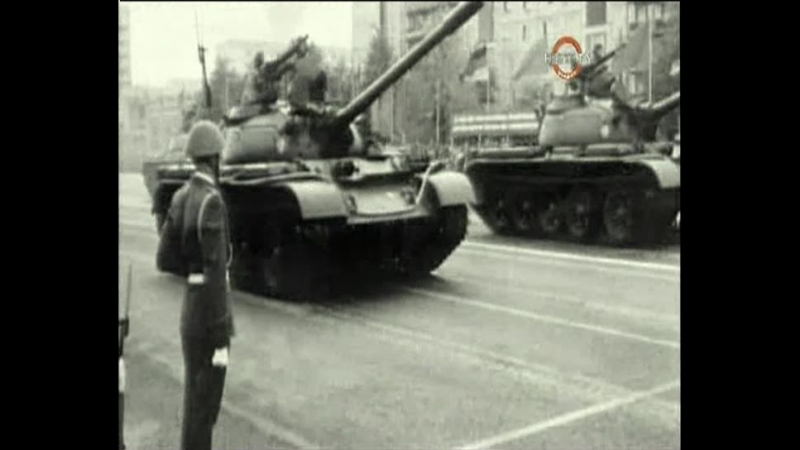 History Channel Танки в Золотом Городе конец Пражской Весны 1968 г