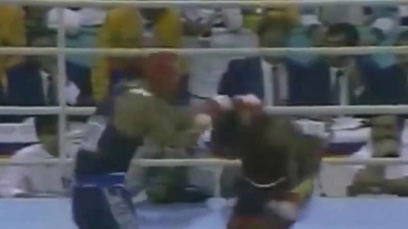 Финал. бокс. Олимпиада-88! Р.Джонс