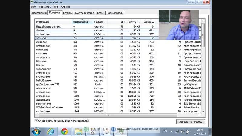 7 Загрузка и дерево процессов Linux и Windows Параллельные программы